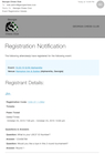 Image: Email Registration Notification